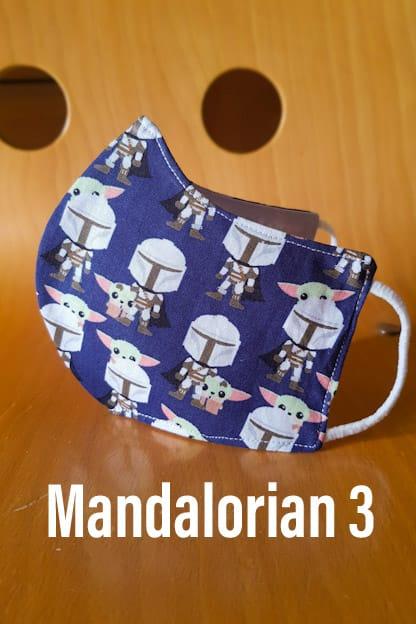 Mascarilla Mandalorian 3