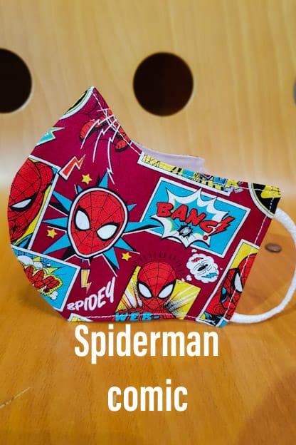 Mascarilla Spiderman Comic