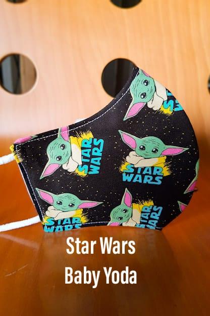 Mascarilla Star Wars Baby Yoda