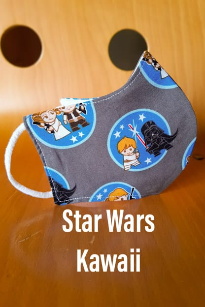 Mascarilla Star Wars Kawaii