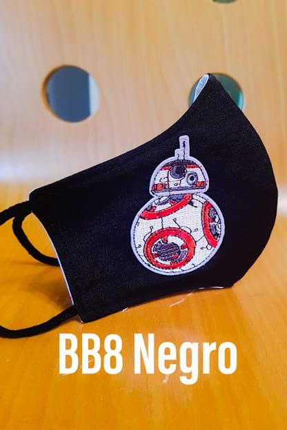 mascarilla BB8 negro