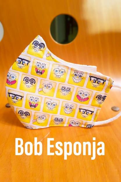 mascarilla Bob Esponja