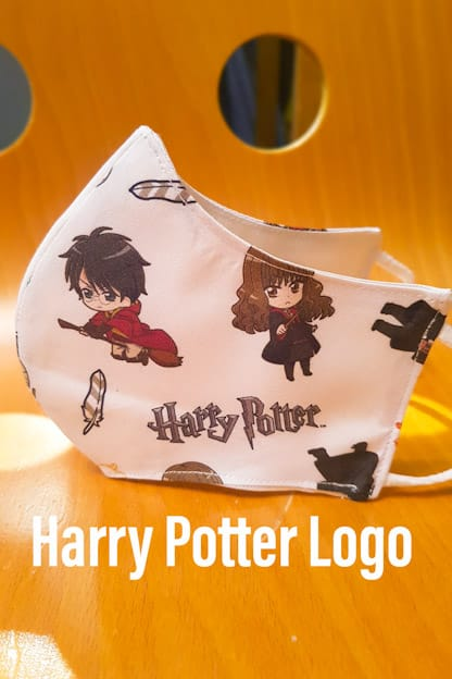 mascarilla Harry Potter Logo