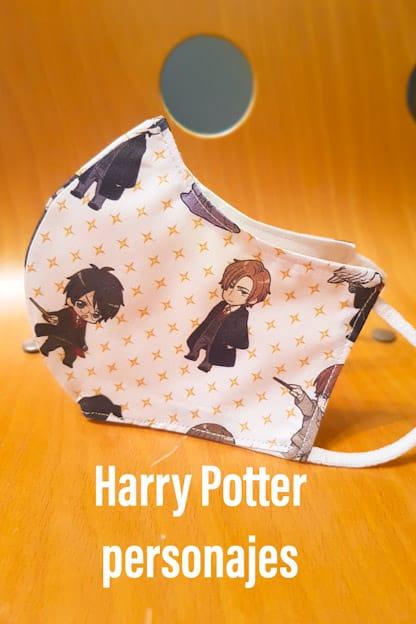 mascarilla Harry Potter personajes
