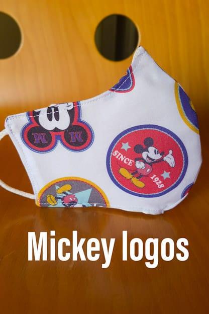 mascarilla Mickey logos