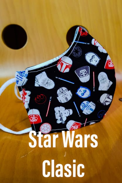 mascarilla Star Wars Clasic