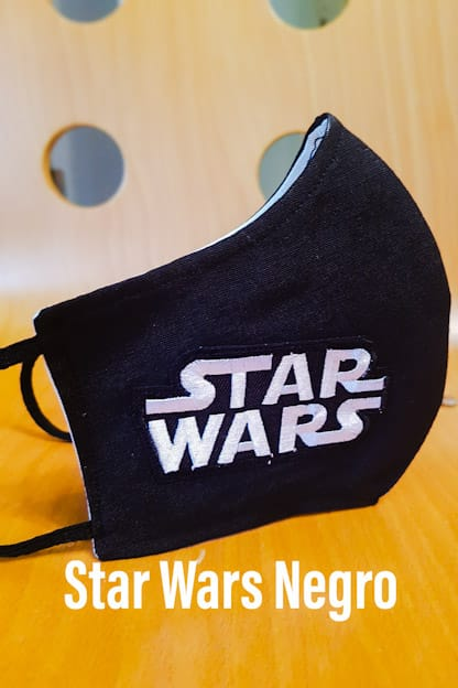 mascarilla Star Wars Negro