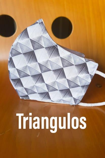 mascarilla Triangulos
