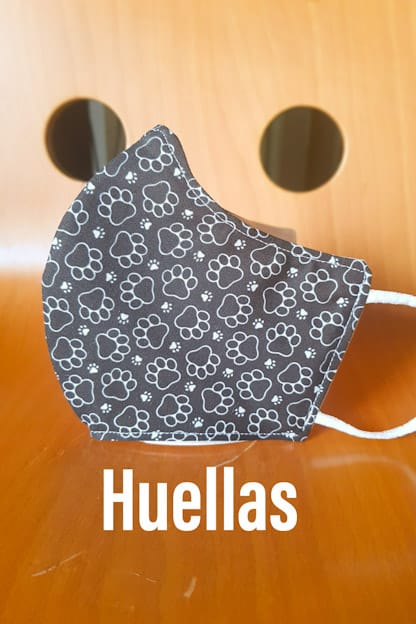 mascarilla Huellas