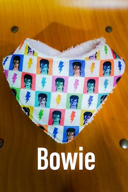 Bandana bebe Bowie