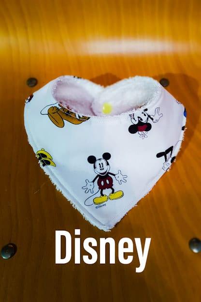 Bandana babero bebe Disney