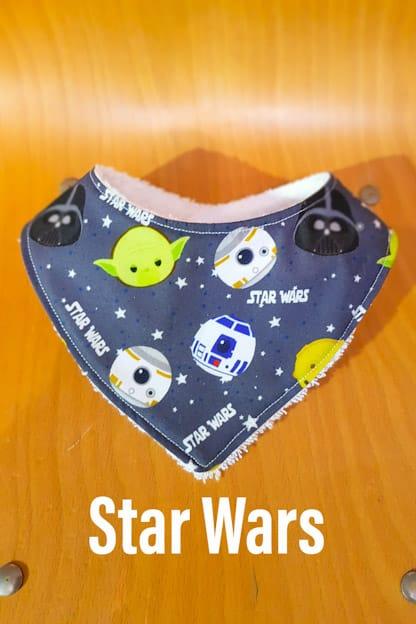 Bandana babero bebe Star Wars