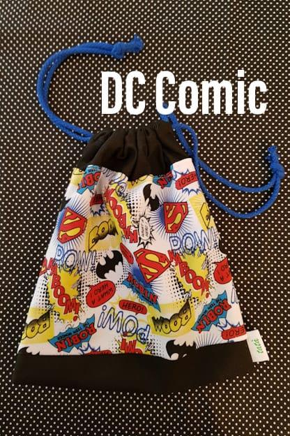 bolsa infantil DC Comic