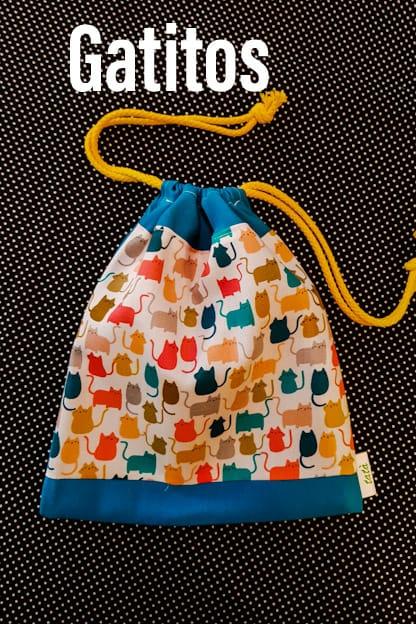 bolsa infantil Gatitos