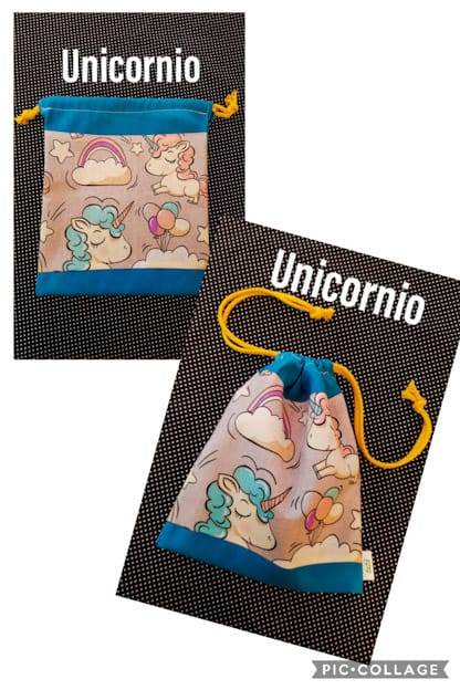bolsa infantil Unicornio