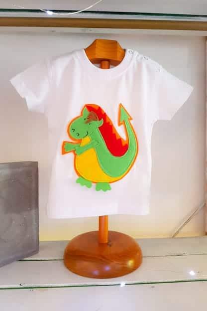 camiseta infantil Drac