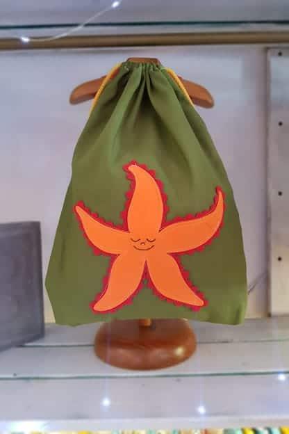 mochila infantil Estrella de mar verde