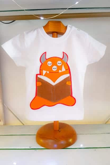 camiseta infantil Monstruito