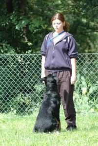 Jacqueline G - Hund und Mensch