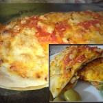 Gemüse-Calzone