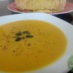 Kürbissuppe-orientalisch