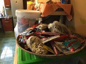 Futterspenden