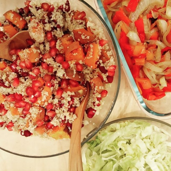 Bol con quinoa