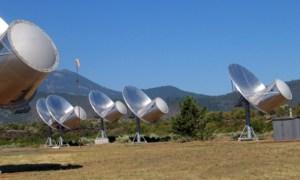 Las nuevas antenas del SETI