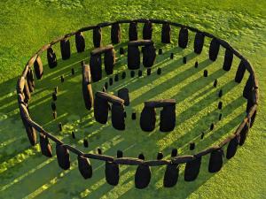 Reconstrucción de Stonehenge