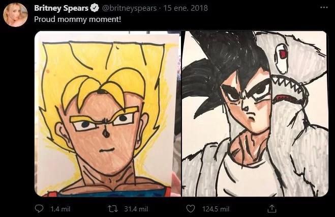 Dragon Ball Britney Spears Fan