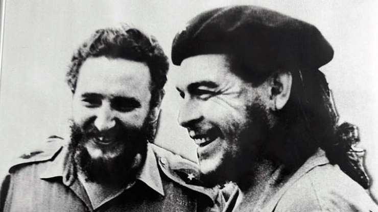 """Fidel y Ernesto """"Che"""" Guevara"""