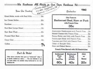 En 1943 McDonald's incluía chilis y tamales