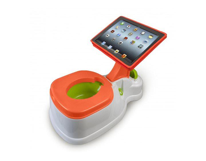 Bebés aprenden a usar el iPad antes de hacer popo