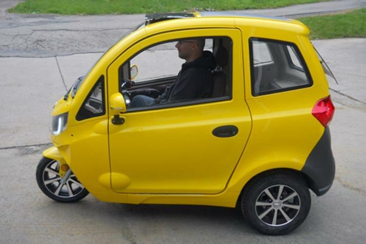 Carro eléctrico nuevo: El mejor precio $5,700 dólares