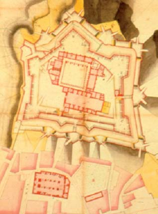 Antiguo plano de la zona