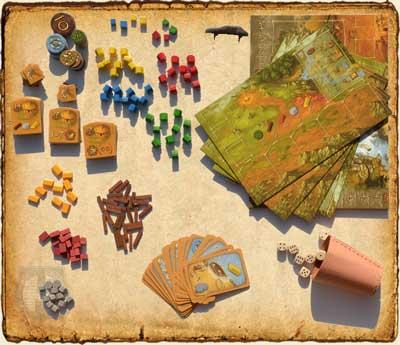 Contenido juego Stone Age - Juegos de Mesa