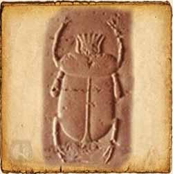 Escarabajo - Símbolo egipcio