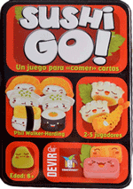 Juegos de Mesa - Portada Sushi Go