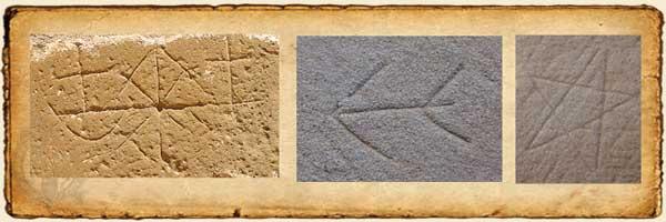 Símbolos de cantero con diferentes significados