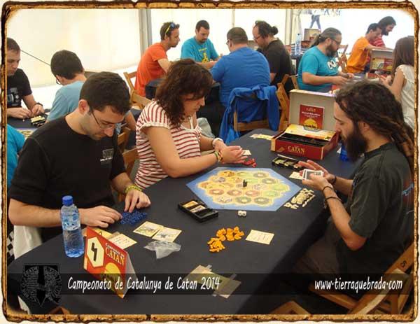 Primera Ronda Campeonato Catalunya Catan