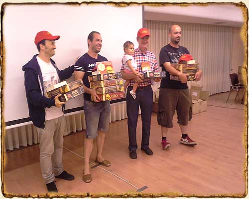 Campeonato Nacional de Catan - Finalistas