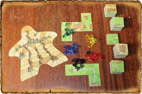 Juegos de Mesa - Contenido Carcassonne
