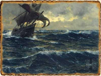 Relatos de Fantasía - Fuerza de Mascarón - Barco