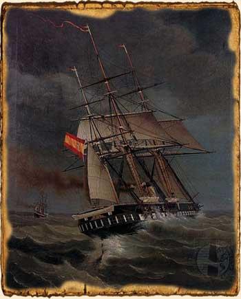 Relatos de fantasía - Fuerza de mascarón - Barcos