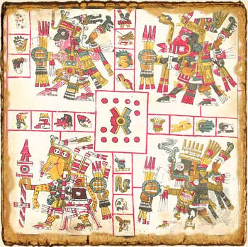 Mitología Azteca: Los patrones de la guerra