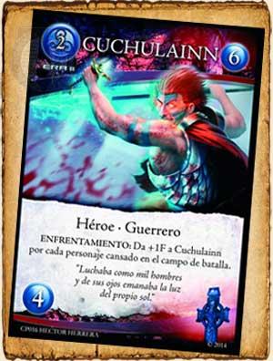 Mitología Celta -  Cuchulainn en Guerra de Mitos