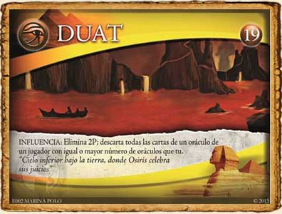 Panteón Duat en Guerra de Mitos
