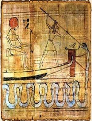Mitología Egipcia - Seth Ra y Apep