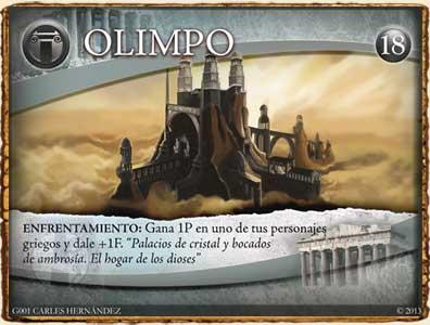 Mitología Griega - Olimpo en Guerra de Mitos
