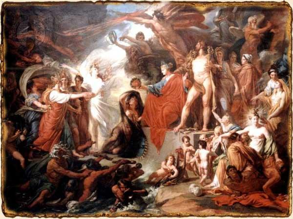 Mitología Griega - El triumfo de la Civilizacion